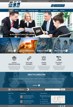 New Website for Consulting company Complete Web Design Solution  Draft # 6 by FuturisticDesign