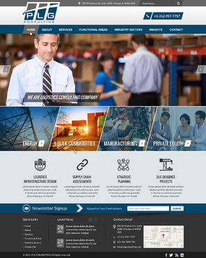 New Website for Consulting company Complete Web Design Solution  Draft # 10 by FuturisticDesign
