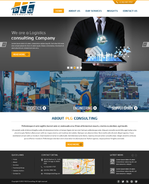 New Website for Consulting company Complete Web Design Solution  Draft # 53 by FuturisticDesign