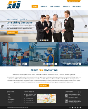 New Website for Consulting company Complete Web Design Solution  Draft # 54 by FuturisticDesign