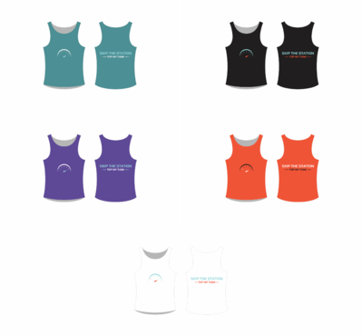 Tank Top Design for Mobile App