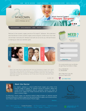 Home Page Web Design  Draft # 4 by macroads