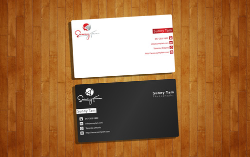 Sunny Tam Photography Business Cards and Stationery  Draft # 159 by GeniusMinD