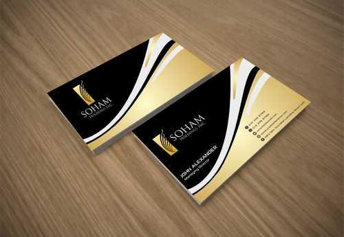 SOHAM Holdings Inc. Business Cards and Stationery  Draft # 261 by Dawson