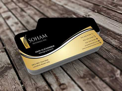 SOHAM Holdings Inc. Business Cards and Stationery  Draft # 263 by Dawson