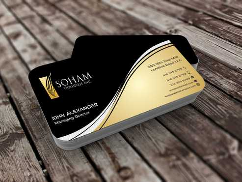 SOHAM Holdings Inc. Business Cards and Stationery  Draft # 265 by Dawson