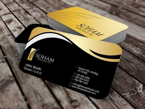 SOHAM Holdings Inc. Business Cards and Stationery  Draft # 275 by Dawson