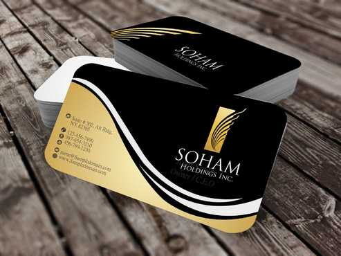 SOHAM Holdings Inc. Business Cards and Stationery  Draft # 281 by Dawson