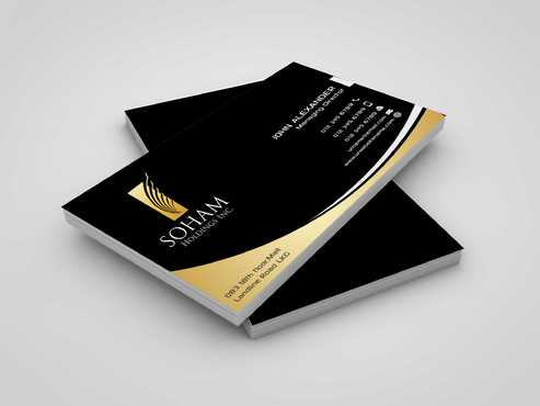 SOHAM Holdings Inc. Business Cards and Stationery  Draft # 282 by Dawson