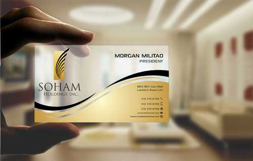 SOHAM Holdings Inc. Business Cards and Stationery  Draft # 283 by Dawson