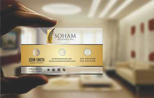 SOHAM Holdings Inc. Business Cards and Stationery  Draft # 292 by Dawson