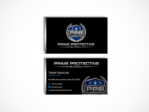 Prime Protective Bureau  Marketing collateral  Draft # 6 by Samdesigns
