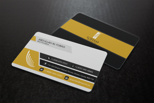 SOHAM Holdings Inc. Business Cards and Stationery  Draft # 308 by ideagigs