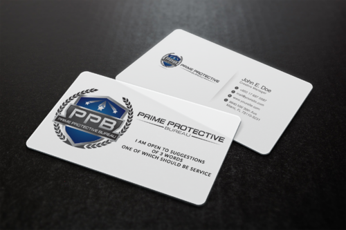 Prime Protective Bureau  Marketing collateral  Draft # 14 by ideagigs