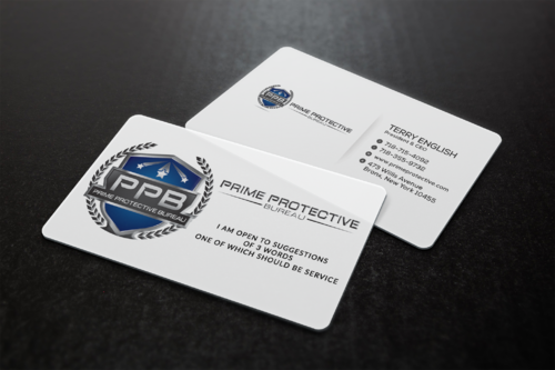 Prime Protective Bureau  Marketing collateral  Draft # 78 by ideagigs