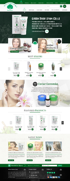 Naturfarm Pharmacy Web Design  Draft # 64 by jogdesigner