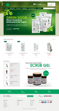 Naturfarm Pharmacy Web Design  Draft # 76 by Pixelwebplanet