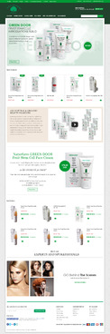 Naturfarm Pharmacy Web Design  Draft # 89 by Pixelwebplanet
