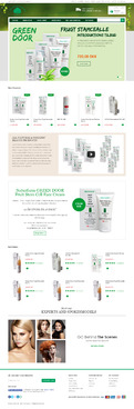 Naturfarm Pharmacy Web Design  Draft # 95 by Pixelwebplanet