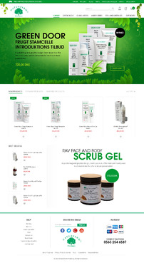 Naturfarm Pharmacy Web Design  Draft # 99 by Pixelwebplanet