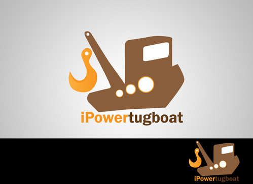 IPowertugboat A Logo, Monogram, or Icon  Draft # 44 by KheyCreation