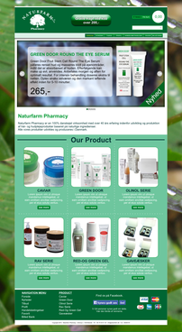 Naturfarm Pharmacy Web Design  Draft # 123 by desideria