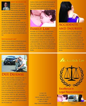 Accolade Law Marketing collateral  Draft # 55 by FEGHDD