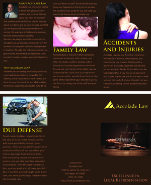 Accolade Law Marketing collateral  Draft # 63 by FEGHDD
