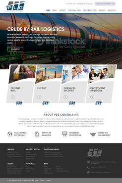 New Website for Consulting company Complete Web Design Solution Winning Design by Pixelwebplanet
