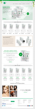 Naturfarm Pharmacy Web Design  Draft # 148 by Pixelwebplanet