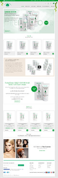 Naturfarm Pharmacy Web Design  Draft # 152 by Pixelwebplanet