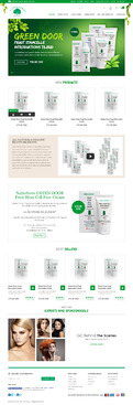 Naturfarm Pharmacy Web Design  Draft # 156 by Pixelwebplanet