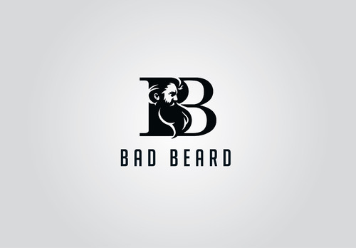 """Bad Beard"" Or, it could live without text at all. Maybe even just a BB. A Logo, Monogram, or Icon  Draft # 27 by myhands"