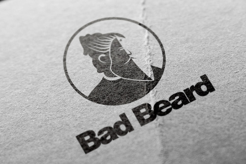 """Bad Beard"" Or, it could live without text at all. Maybe even just a BB. A Logo, Monogram, or Icon  Draft # 69 by Abdul700"