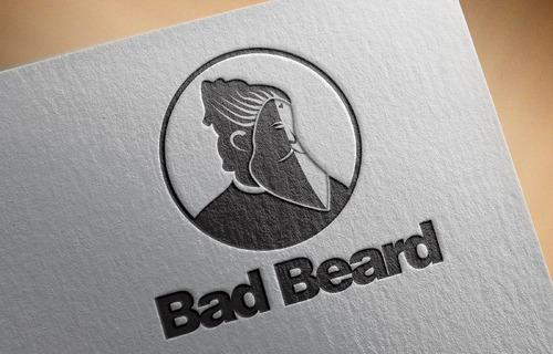 """Bad Beard"" Or, it could live without text at all. Maybe even just a BB. A Logo, Monogram, or Icon  Draft # 70 by Abdul700"
