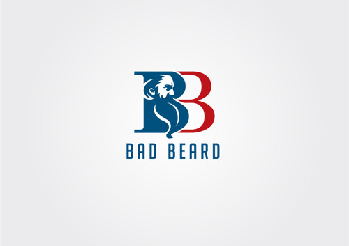 """Bad Beard"" Or, it could live without text at all. Maybe even just a BB. A Logo, Monogram, or Icon  Draft # 73 by myhands"