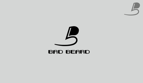 """Bad Beard"" Or, it could live without text at all. Maybe even just a BB. A Logo, Monogram, or Icon  Draft # 79 by guglastican"