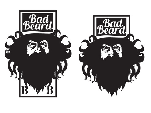 """Bad Beard"" Or, it could live without text at all. Maybe even just a BB. A Logo, Monogram, or Icon  Draft # 80 by Expert1420"