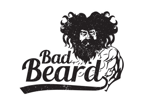 """Bad Beard"" Or, it could live without text at all. Maybe even just a BB. A Logo, Monogram, or Icon  Draft # 83 by Expert1420"