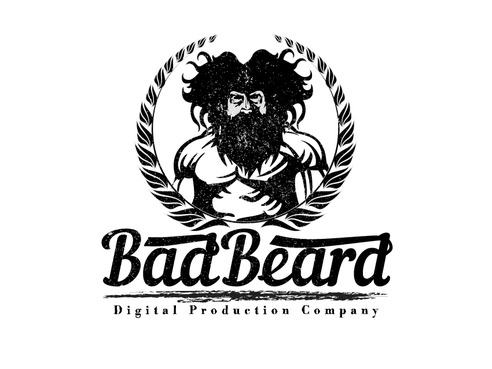 """Bad Beard"" Or, it could live without text at all. Maybe even just a BB. A Logo, Monogram, or Icon  Draft # 109 by Expert1420"