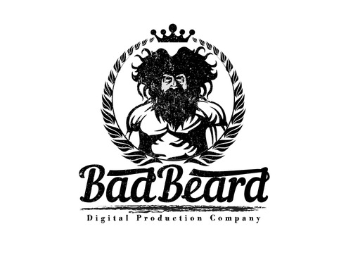 """Bad Beard"" Or, it could live without text at all. Maybe even just a BB. A Logo, Monogram, or Icon  Draft # 110 by Expert1420"