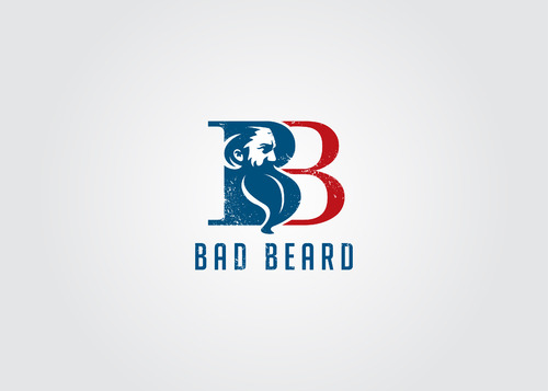 """Bad Beard"" Or, it could live without text at all. Maybe even just a BB. A Logo, Monogram, or Icon  Draft # 114 by myhands"