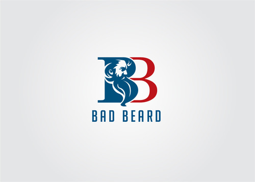 """Bad Beard"" Or, it could live without text at all. Maybe even just a BB. A Logo, Monogram, or Icon  Draft # 115 by myhands"