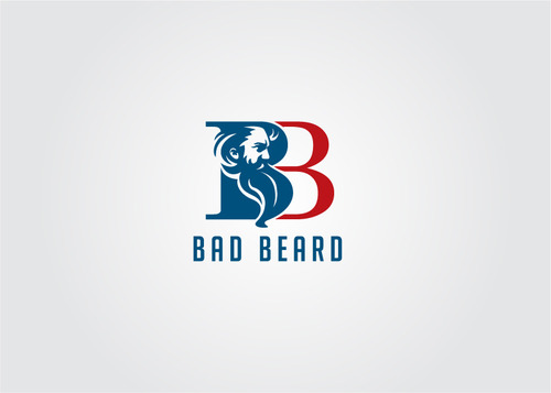 """Bad Beard"" Or, it could live without text at all. Maybe even just a BB. A Logo, Monogram, or Icon  Draft # 120 by myhands"