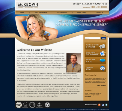 Home Page Web Design  Draft # 6 by xpiderz