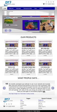 DT Videolabs Complete Web Design Solution  Draft # 34 by excicuter