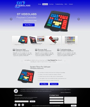 DT Videolabs Complete Web Design Solution  Draft # 35 by excicuter