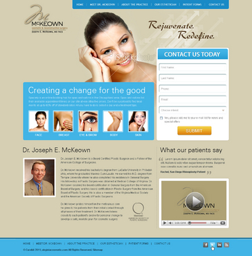Home Page Web Design  Draft # 8 by Gautam