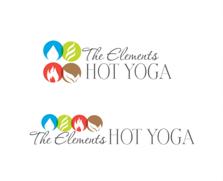 The Elements Hot Yoga A Logo, Monogram, or Icon  Draft # 17 by neonlite