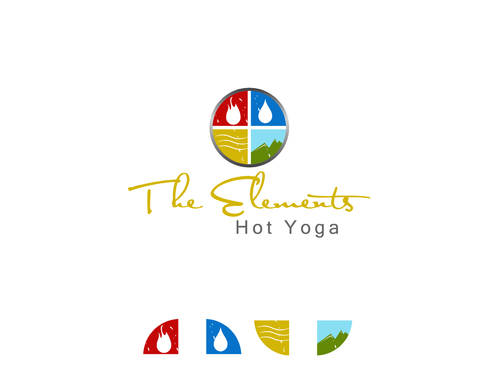 The Elements Hot Yoga A Logo, Monogram, or Icon  Draft # 23 by Aaask